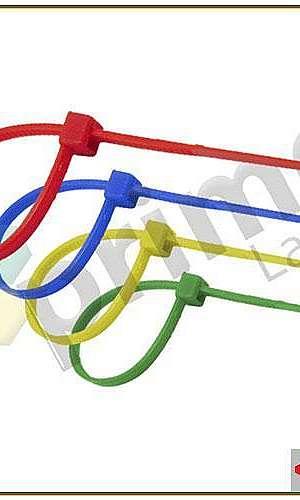 Abraçadeiras Plásticas em Nylon Coloridas