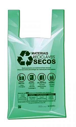 Distribuidor de sacolas plásticas